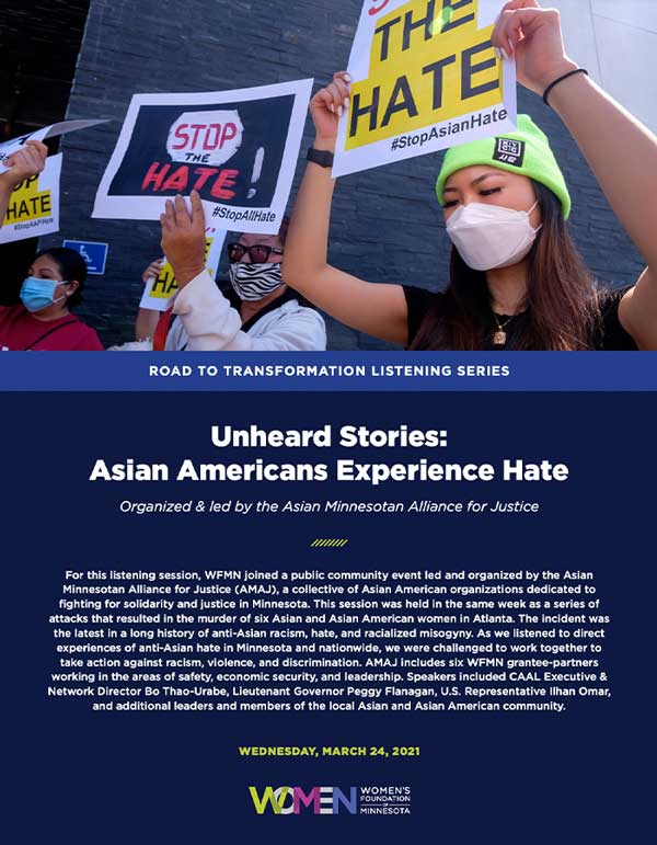 Asian hate report cover